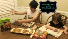 Sibling Love with After School Snacks #shop #cbias #afterschoolsnacks