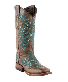 Take a look at this Pine Norwood Cowboy Boot - Women by Lucchese on #zulily today!
