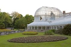 Palm House, Botanic Gardens, Belfast.