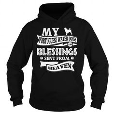 MY PORTUGUESE WATER DOGS ARE BLESSINGS SEND FROM HEAVEN HOODIE TEE (==►Click To Shopping Here) #my #portuguese #water #dogs #are #blessings #send #from #heaven #hoodie #Dog #Dogshirts #Dogtshirts #shirts #tshirt #hoodie #sweatshirt #fashion #style