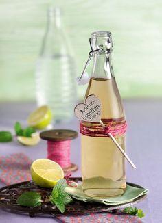 Minz-Limetten-Sirup