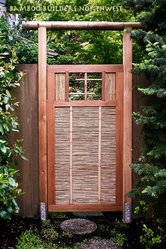 Perfect Bamboo Gate