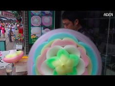 Cotton Candy Flower - the biggest in the world / Algodón de Azúcar / 棉花糖 / Zuckerwatte - YouTube