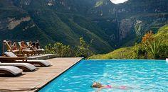 Descubra el Gocta Andes #Lodge y su espectacular piscina panorámica en #Perú.