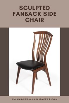 The comfort, flexibility and elegance of our sculpted fan back sets this chair apart from any wooden chair made today. Our superior joinery provides enough strength for us to eliminate the entire undercarriage for a clean look with less weight. Meticulous hand sculpting of each part ties them together visually. Each detail creates a flow that supports comfort through its sensual look and feel. #chair #home #herronchair #BrianBoggs #woodchair #furniture #woodwork #decor Dining Room Decor Elegant, Dining Room Wall Decor, Dining Room Design, Side Chairs, Dining Chairs, Furniture Inspiration, Wooden Furniture, Coastal Decor, Home Remodeling