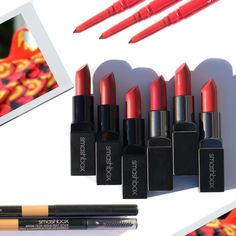 """""""Can't think of a better way to say happy #LunarNewYear than with our red lippies. Plus, score a free makeup bag and samples when you spend $50 or more on smashbox.com (code: FIREMONKEY)."""""""