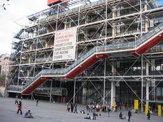 Pompideu, Modern Art Museum in Paris