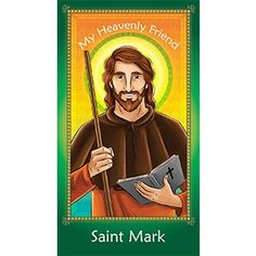 Heavenly Father, You called Saint Mark to serve You and blessed him with the grace of sharing the Gospel with others. Help me to learn from his example and to have the love, humility and courage to share Your light and love where it is needed the most. Amen #prayercard