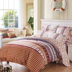 MERCURY Home Textile Romantic in Rome 4 pcs bedding set bedsheet bed spread duvet cover set