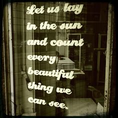 Tuesday Window Quote - 09.04.2013