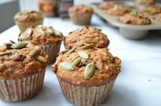 pumpkin cranberry muffins--going to substitute pumpkin purée for the butter to make these healthy