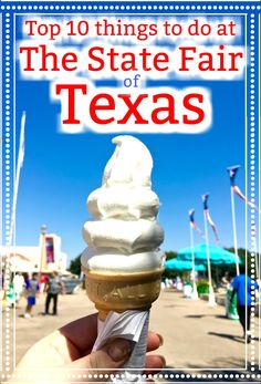Things to do at the State Fair of Texas | Visiting the State Fair | Big Tex | Corney Dog | Corn Dogs | Texas OU weekend| Things to do in the fall in Dallas | Fall getaways to Dallas | 10 things you have to do at the state fair | Fletchers Corny Dog | Fried Food