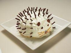はりねずみのシフォンケーキ