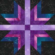 Amish Quilt Patterns, Quilt Square Patterns, Paper Piecing Patterns, Pattern Blocks, Square Quilt, Block Patterns, Star Quilt Blocks, Strip Quilts, Panel Quilts