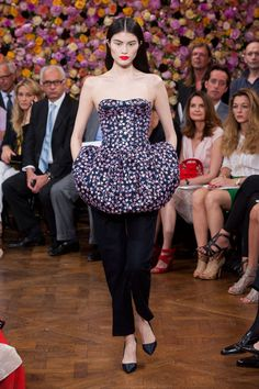 Raf Simons Debuts Dior Couture Collection  - HarpersBAZAAR.com