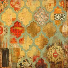 """""""Vanity"""" mixed media on canvas -- Jill Ricci"""