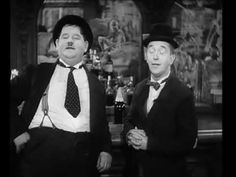 A Moment from `Way out West` that brightened many a moment and many a Saturday Morning. Laurel & Hardy - Trail of the Lonesome Pine - Epic