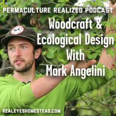 Permaculture Realized Podcast Episode 6, Woodcraft, Ecological Design, and Holistic Farm Integration with Mark Angelini - Realeyes Permaculture Homestead