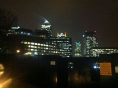 Canary Warlf @ night x In This Moment, Night