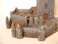 Dwarf Watchtower 2 by clevella.deviantart.com on @deviantART