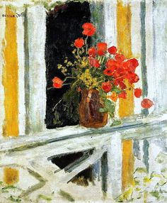 The Poppies Pierre Bonnard - 1912