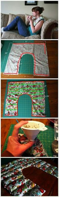 65 Genius Gift Ideas to Make at Home | Glamumous! Including this Rice-filled Shoulder Heating Pad with Lavender. Not many are tutorials, but great ideas.