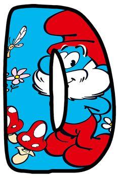 Buchstabe - Letter D Alphabet Style, Alphabet Letters, Abc Cartoon, Scrapbook Letters, Disney Alphabet, Masha And The Bear, Bubble Letters, Clip Art Pictures, Abc For Kids