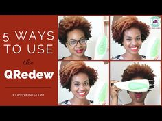 Tutorial | 5 Ways to Use the QRedew (Great for Kinky Hair, Dry Skin, and Protective Styles!) - YouTube