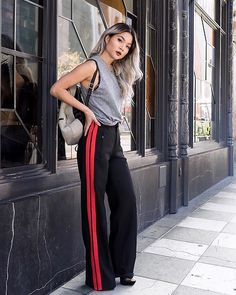 Get this look: http://lb.nu/look/8521653 More looks by Karen Song: http://lb.nu/ksonggg Items in this look: Rich Honey Muscle Top, Zara Track Pants Trousers #chic #minimal #street #streetwear #streetfashion #casualchic #athleticwear #trackpants #richhoney
