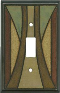 Home Remodeling Craftsman Ceramic Light Switch Plates, Outlet Covers, Wallplates - Craftsman Decor, Craftsman Interior, Craftsman Style Homes, Craftsman Bungalows, Craftsman Lighting, Craftsman Tile, Craftsman Furniture, Craftsman Kitchen, Craft Room Lighting