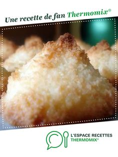 coconut rock by A fan recipe to find in the Desserts & Confectionery category on www.espace-recett …, from Thermomix®. coconut rock by A fan recipe to find in the Desserts & Confectionery category on www.espace-recett …, from Thermomix®. Quick Keto Dessert, Quick Easy Desserts, Easy Snacks, Dessert Recipes, Recipes Dinner, Diet Recipes, Rocher Coco Thermomix, Dessert Thermomix, Keto Snacks To Buy