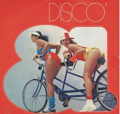 Disco 81 Cover - Models: Paula Lavigne and Xuxa At The Disco, Disco Disco, 80s Fashion, Vintage Fashion, Worst Album Covers, Bad Album, Lp Cover, Bicycle Girl, Biker Girl