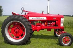 farmall tractors | 1957 farmall 350 beautifully restored with excellent sheet metal ...
