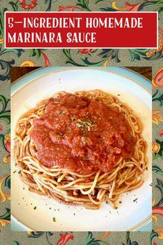 Italian Beans, Canning Crushed Tomatoes, Green Soup, Vegetarian Italian, Homemade Marinara, Super Greens, Sweet Sauce, Food Words, Recipe Ratings