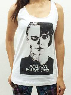 American Horror Story Shirt Tshirt Tank Top US Series Sleeveless SMLXL #Handmade #GraphicTee