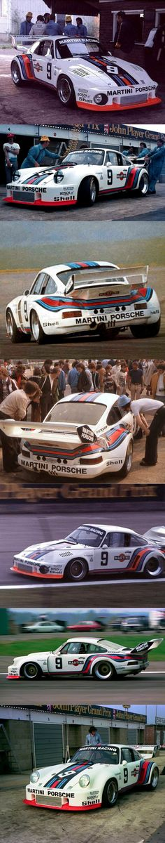 1976 Porsche 935/76 / Martini liveries / no.9 / white red blue / group 5 / Germany
