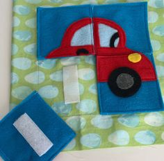 Excited to share this item from my #etsy shop: Quiet Book Sewing Pattern - Car puzzle quiet book page PDF pattern for DIY quiet book Diy Quiet Books, Felt Quiet Books, Sensory Book, Baby Sensory, Quiet Book Patterns, Quiet Book Templates, Puzzles, Diy Baby Gifts, Sewing Projects For Kids
