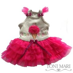 Am So Sweet Dog Dress in Many Colors
