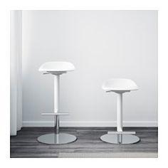 JANINGE Barkruk, wit - IKEA