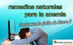 remedios naturales para la anemia tratamiento de la anemia falta de hier...