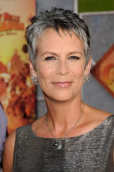 Jamie Lee Curtis - a fine example of how to age gracefully, naturally