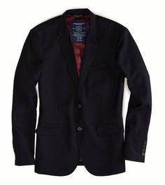 Fleet Navy AE Wool Blazer  AE Wool Blazer Style: 2101-9433 | Color: 453