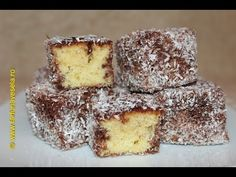 Prajitura tavalita in nuca de cocos | Farfuria vesela - YouTube Krispie Treats, Rice Krispies, No Cook Desserts, Dessert Recipes, Romanian Desserts, Sweet Treats, Cooking Recipes, Tasty, Sweets