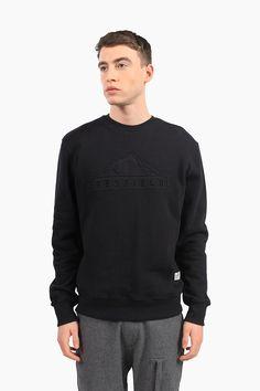 Penfield.com |  Mens Farley Black Crew