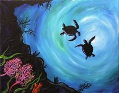 Image result for sea turtle wall print