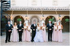 Jeff & Courtney's Vintage Wedding at the Piazza in the Village
