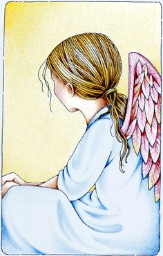 For the Sandy Hook Elementary School children whose lives were tragically cut short (drawing by Mary Engelbreit) Jessie Willcox Smith, Entertaining Angels, I Believe In Angels, Creation Photo, Sandy Hook, Angels Among Us, Mary Engelbreit, Guardian Angels, Angel Art