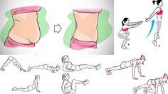 ejercicios para aplanar el vientre