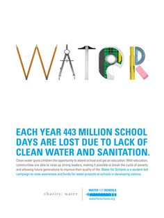 Charity Water Poster 2