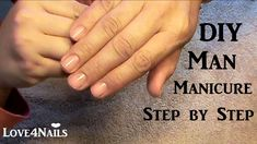 How To Man Manicure At Home + Bloopers ~ the ending bloopers are hilarious! How To Do Manicure, Manicure Steps, Manicure Y Pedicure, Manicure At Home, Mani Pedi, Youtube Nail Art, Mens Nails, Male Grooming, Nail Tech